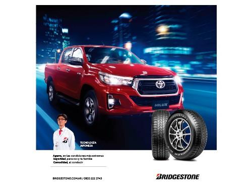 Neumático TOYOTA HILUX 265 65 R17 112T DUELER H/T 684 II BRIDGESTONE