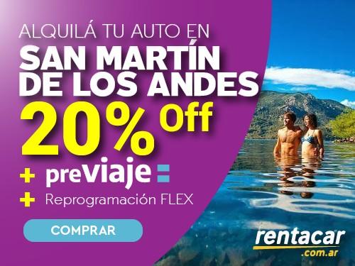 Alquiler de Autos en San Martín de los Andes