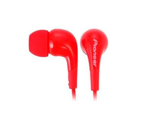 Auriculares Pioneer Earphone Red