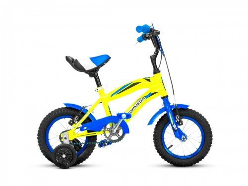 Bicicleta Topmega Crossboy R12 - Amarillo Azul