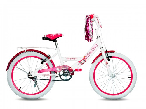 Bicicleta Topmega Princess R20 - Blanco