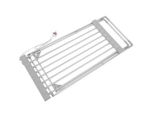 Tender Eléctrico Simple Aluminio 120w Seca Ropa