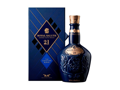 Whisky escoses Royal Salute 21 años