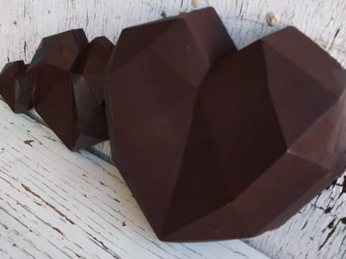 CORAZON DE CHOCOLATE GIGANTE RELENO DE CHOCONUT 1,4 kg