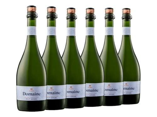 Vino espumante Mumm Domaine Brut Nature Caja de 6 botellas