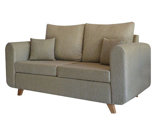 Sillon Sofa Moderno Personalizable De 2 Cuerpos Vito Arena