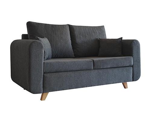 Sillon Sofa Moderno Personalizable De 2 Cuerpos Vito Gris