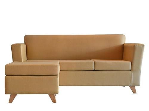 Sillon Sofa Esquinero Escandinavo De 3 Cuerpos Amy Maiz