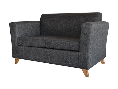 Sillon Sofa Escandinavo Personalizable De 2 Cuerpos Amy Gris