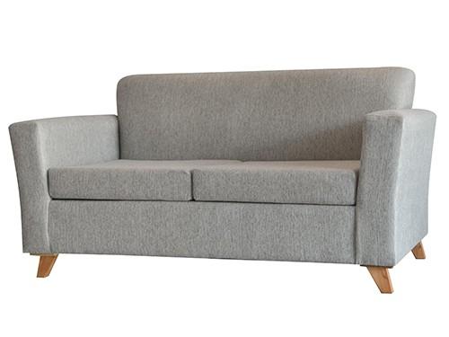 Sillon Sofa Escandinavo Personalizable De 2 Cuerpos Amy Personalizado