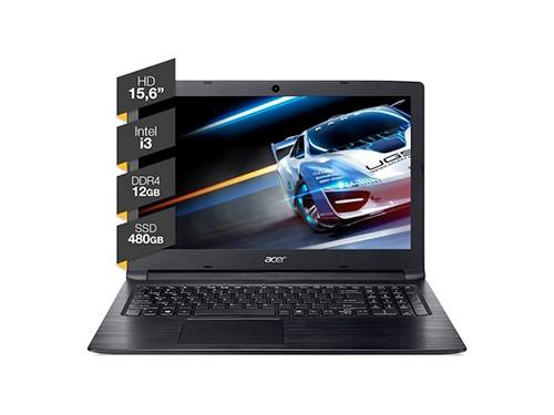 Notebook Acer 15p Aspire 3 Intel I3 12gb Ram 480gb Ssd Win10