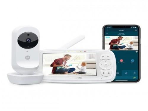 Baby Call Motorola Ease-44 Wifi Camara Monitor App Celular