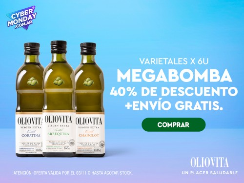 Aceite de Oliva Virgen Extra Combo 6 Varietales Oliovita