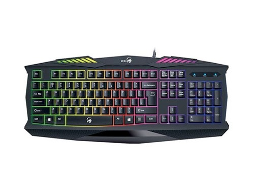 Teclado Gamer Genius Gx Scorpion K220 Retroiluminado Led