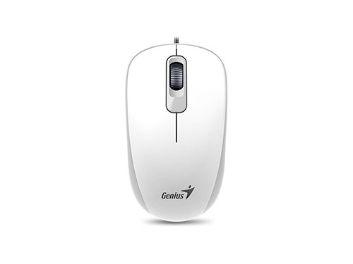 Mouse Genius Con Cable Usb P/ Pc Notebook Win Mac