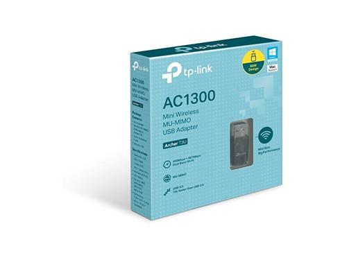 Adaptador Usb Wifi Dual Band Ac1300 Tp-link Archer T3u