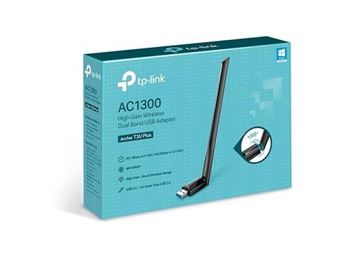 Adaptador Usb Wireless Archer T3u Ac1300 Tp Link Usb 3.0 Mac