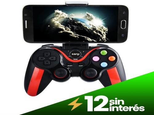 Joystick Gamer Kanji Bluetooth Celulares y Pc Android Ios Windows