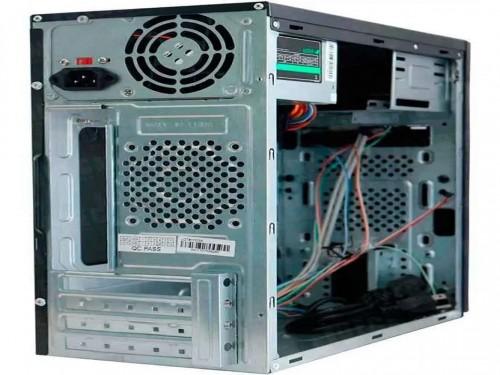 Gabinete Xtech Atx + Fuente 600w Black Xtq-200 Mid Tower