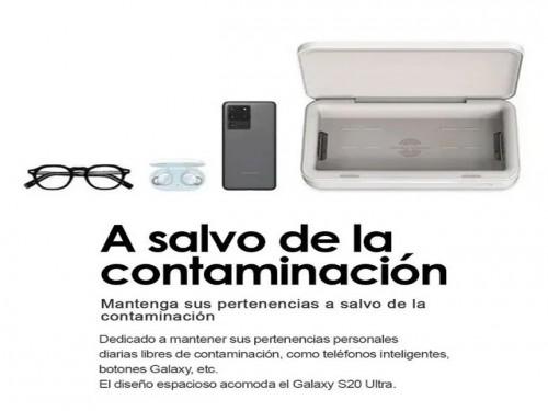 Esterilizador UV Samsung Sanitizador con Cargador Inalámbrico para Cel