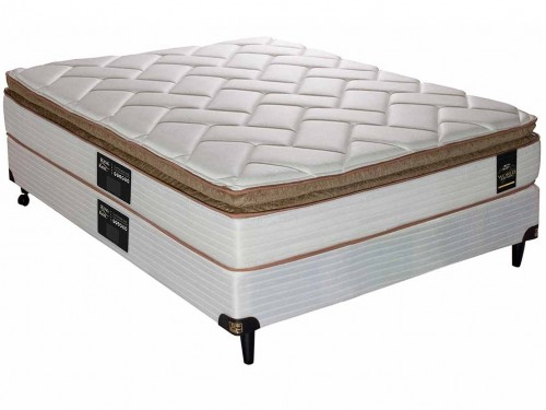 Sommier y Colchon King Koil Finesse Resortes – 2 Plazas 190 x 140