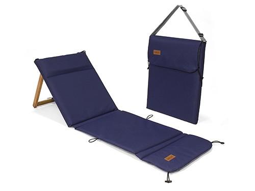 Reposera Plegable Chilly Diseño Azul Marino