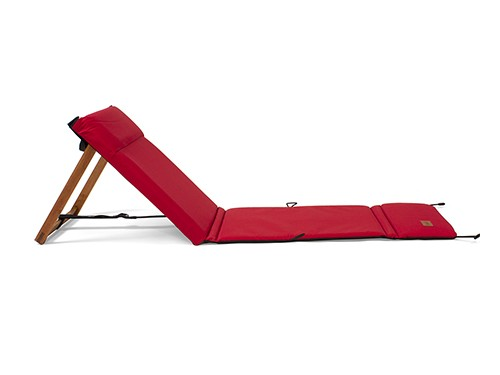 Reposera Plegable Chilly Diseño Rojo
