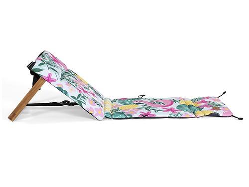 Reposera Plegable Chilly Diseño Flamingo