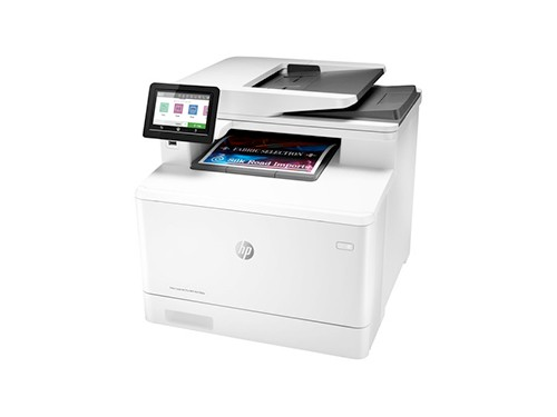 Impresora A Color Multifunción Hp Laserjet Pro M479fdw Con W