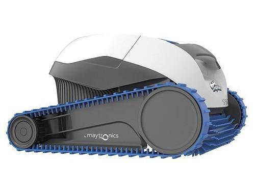 Robot limpia piscinas Dolphin S100 barre aspira filtra pisos y paredes