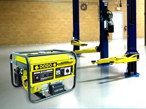 Grupo electrógeno Dogo EC2500 2,3 KVA arr/manual heladera TV y luces
