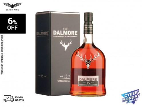 Dalmore 15 años Highland Malt 700 ml.
