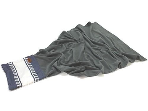 Manta De Polar Chilly Diseño Marine Almohadón