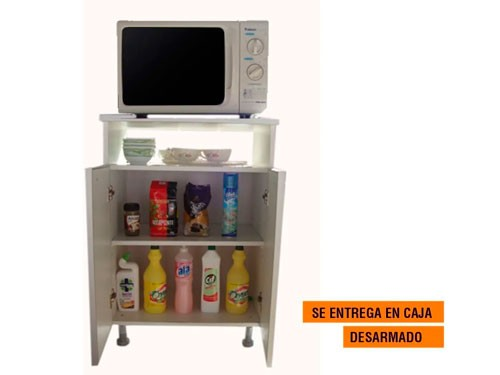 Organizador Mueble Portamicroondas Despensero Horno Grill