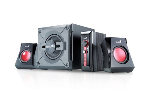 Parlantes Genius Gamer Gx Sw-g2.1 1250 38w Pc Tv Consolas