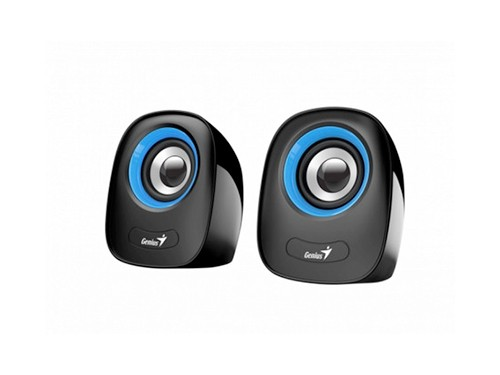 Parlantes Genius Sp-q160 3,5 Mm Pc Notebook 6w Stereo 2.0
