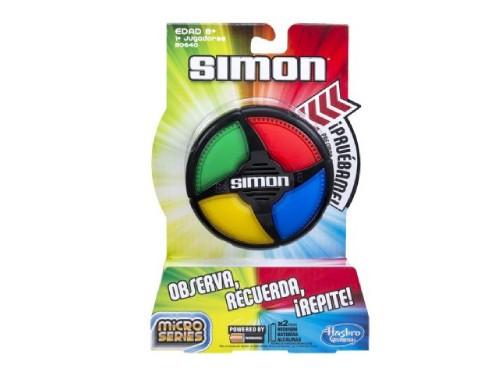 Juego de Memoria Simon Micro Series Hasbro