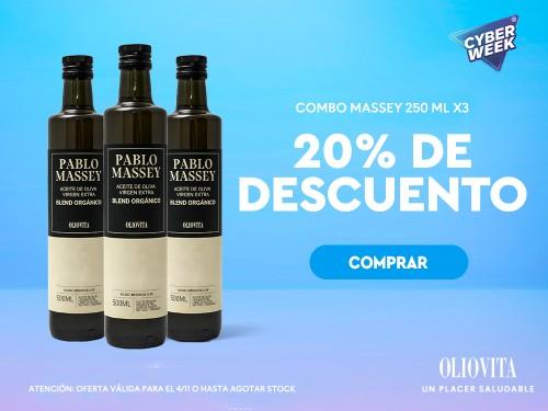 Aceite de Oliva Virgen Extra Blend Orgánico PABLO MASSEY by Oliovita