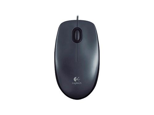 Mouse Optico Usb Logitech M100 Con Cable Ambidiestro