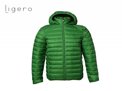 Campera Ligero Clásica Verde de Hombre