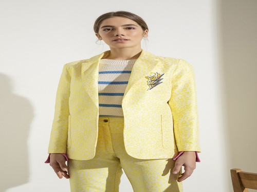 Blazer Animal Yellow - Doll Store