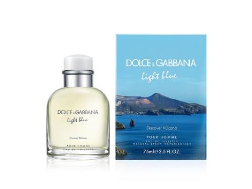 Perfume de Hombre LIGHT BLUE MEN VULCANO EDT x75Vml