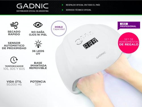 Cabina Para Uñas Gadnic Ledsun Plus UV 72w Uso Profesional + regalo