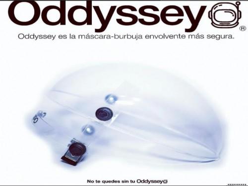 Mascara Protección Facial burbuja Acrílica 2mm Oddyssey Original