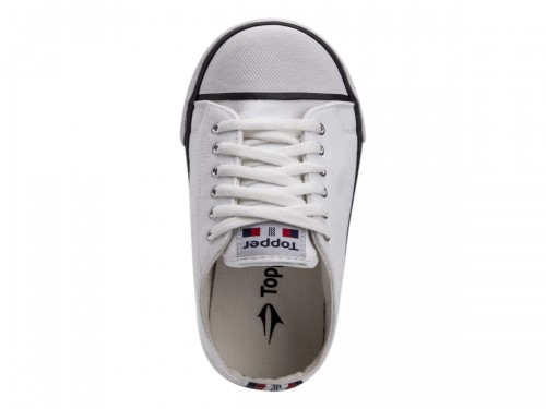 Zapatillas Topper Mujer Paris Casual Color Blanca
