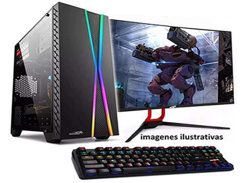 Pc Armada Gamer Amd A6 9500 Ssd 240 Radeon R5 4gb Ram Led 19 Win 10