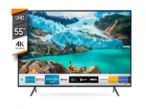 """Televisor Smart 55"""" 4k Curvo Samsung"""