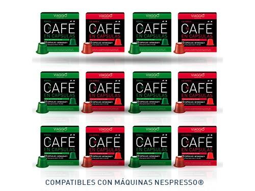 Cápsulas de café Selección Orígenes x 120 Viaggio Espresso