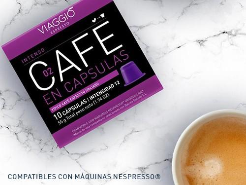 Cápsulas de café Intenso pack x 10 Viaggio Espresso