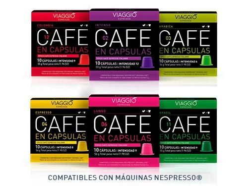 Cápsulas de café natural Mix Especial x 60 cápsulas Viaggio Espresso